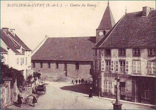 oude ansicht St Julien de Civry