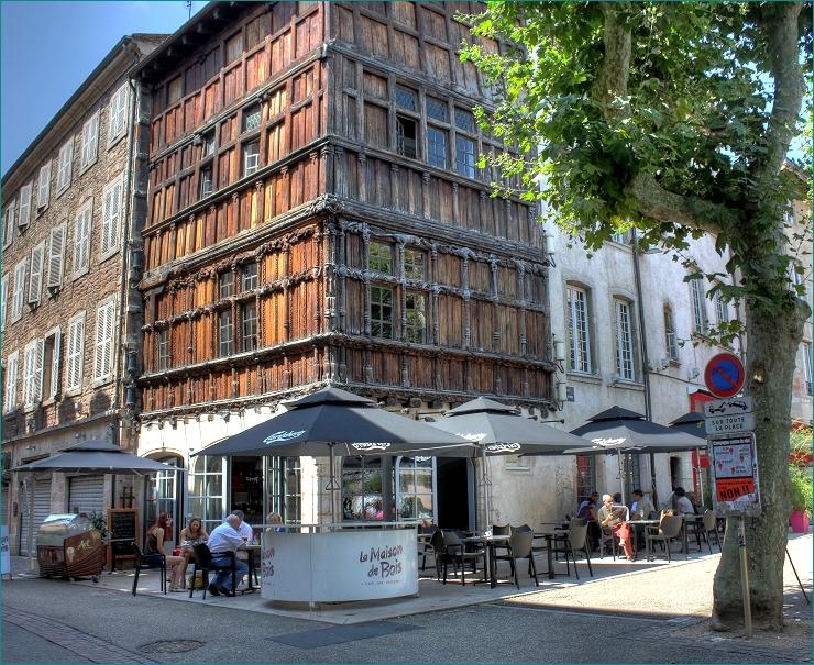 La maison de bois, Mâcon  Bourgogne  Pinterest
