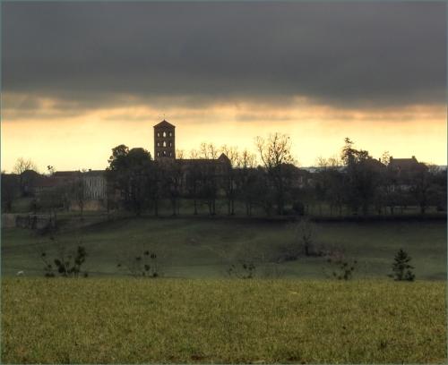 Eglise romane d'Anzy le Duc
