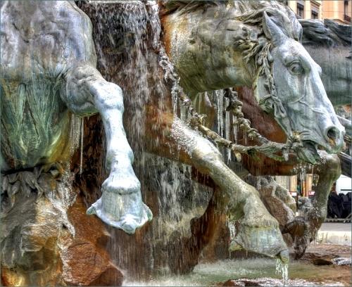 La fontaine Bartholdi - Lyon