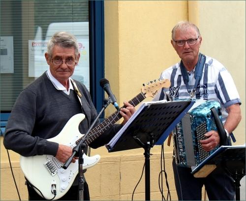 muzikanten markt Marcigny