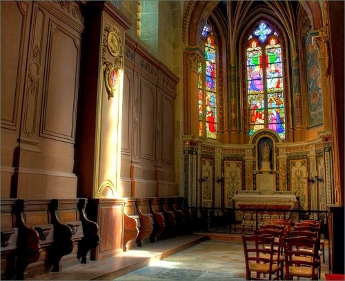 kathedraal Saint Nazaire van Autun