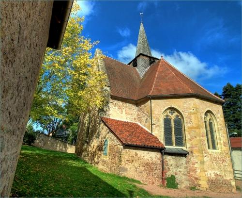 La chapelle Sainte Avoye à La Clayette