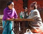 Nepalese naaimachineman