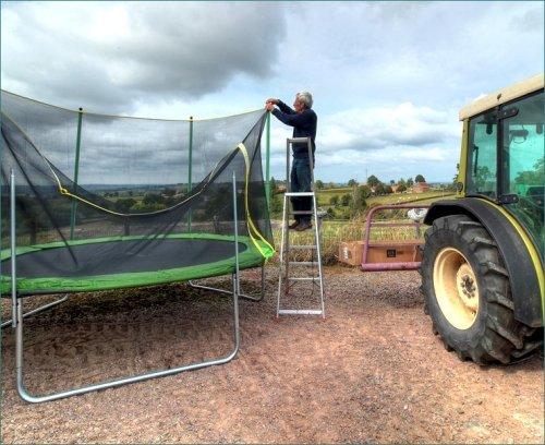 ontmanteling-trampoline